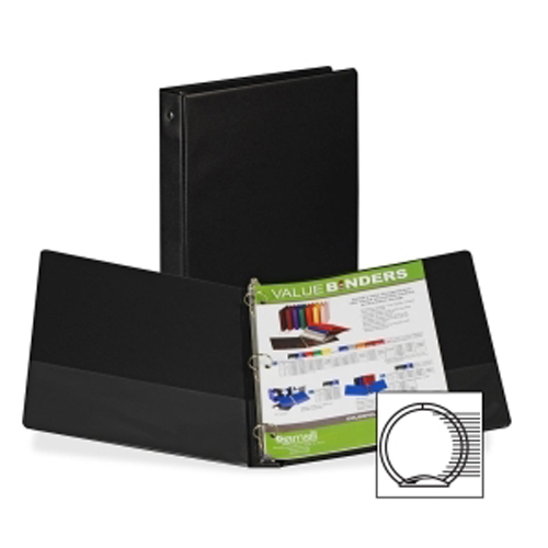 1inch Black 3ring Binders