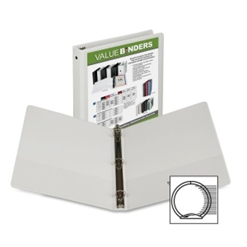 Economy Insertable Round Ring View Binder Image 1