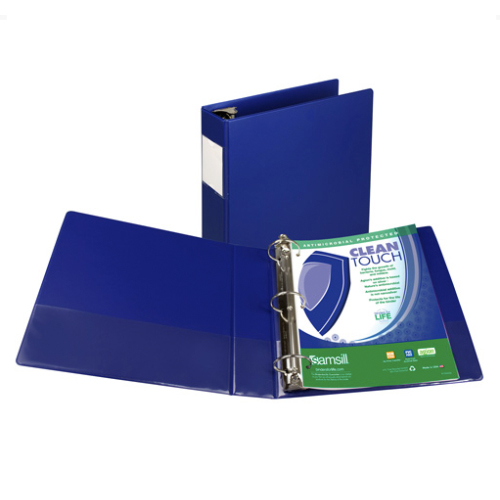 Dark Blue Binder Image 1