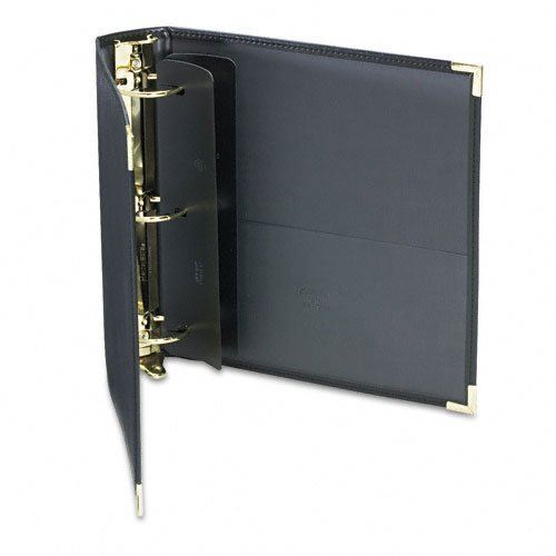 "Samsill 2"" Black Classic Collection Ring Binder Portfolio - 10pk (SAM-15160) Image 1"