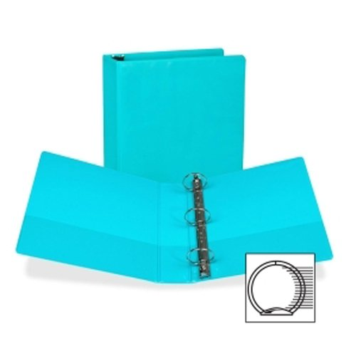 "Samsill 2"" Turquoise Fashion Presentation Round Ring View Binder -6pk (SAM-U86677) Image 1"