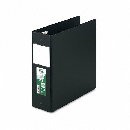 Samsill Black Clean Touch Antimicrobial Round Ring Binders (SAM-CTARBBK) Image 1