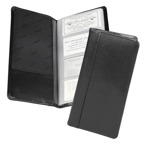 Samsill Black Regal Leather Business Card Holder - 10pk (SAM-81240) - $231.08 Image 1