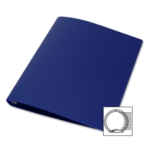 Samsill Blue 28-Gauge Flexible Poly 3-Ring Storage Binder - 12pk (SAM-GFLEXBLU) Image 1