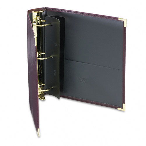 Samsill Burgundy Classic Collection Ring Binder Portfolios (SAM-CCRBPBG) Image 1