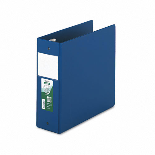 Samsill Dark Blue Clean Touch Antimicrobial Round Ring Binders (SAM-CTARBDBL) Image 1