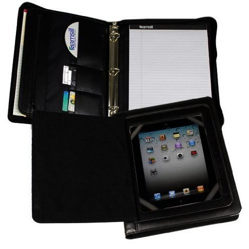 Samsill Professional iPad Zipper Binder with Smart Magnetic Flap - 10pk (SAM-15600) Image 1