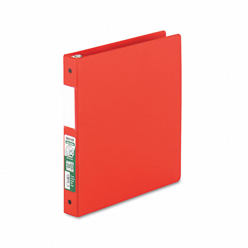 Samsill Red Clean Touch Antimicrobial Round Ring Binders (SAM-CTARBRD) Image 1