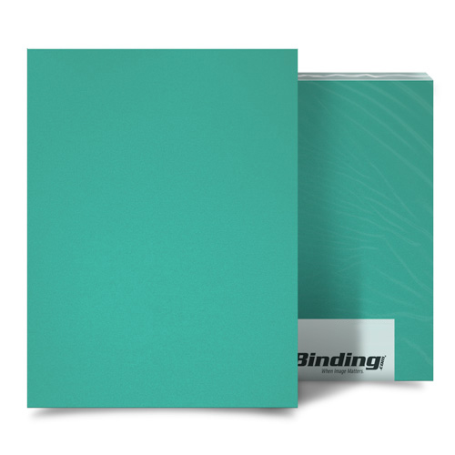 Azure 16mil Sand Poly Binding Covers (MYMP16AZ) Image 1
