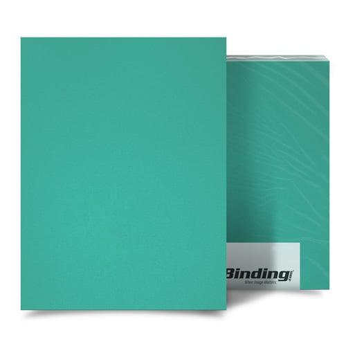 "Azure 55mil Sand Poly 5.5"" x 8.5"" Binding Covers - 10pk (MYMP555.5X8.5AZ) Image 1"