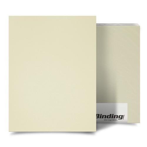 "Beige 35mil Sand Poly 9"" x 11"" Binding Covers - 25pk (MYMP359X11BG) - $45.93 Image 1"