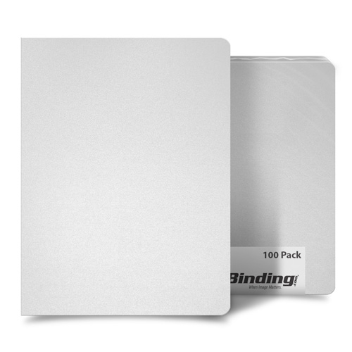 "Frost 23mil Sand Poly 8.75"" x 11.25"" Binding Covers - 25pk (MYMP238.75X11.25NA), Covers Image 1"