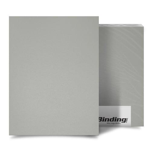 "Light Gray 16mil Sand Poly 8.5"" x 14"" Binding Covers - 25pk (MYMP168.5X14LGY) - $36.35 Image 1"