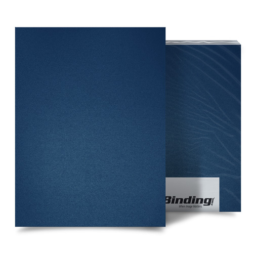 "12mil Navy Sand Poly 8.5"" x 11"" Covers (100pk) (AKCSD12CSNV01) Image 1"
