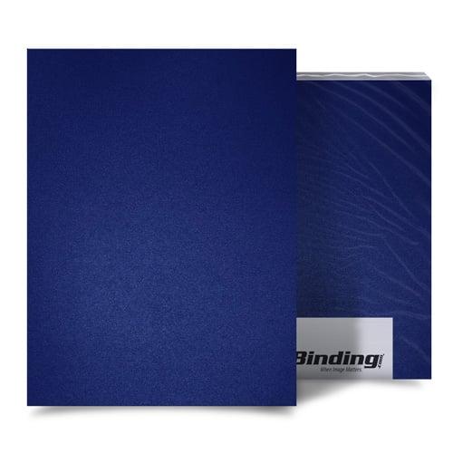 "Par Blue 23mil Sand Poly 5.5"" x 8.5"" Binding Covers - 25pk (MYMP235.5X8.5PB) - $14.2 Image 1"