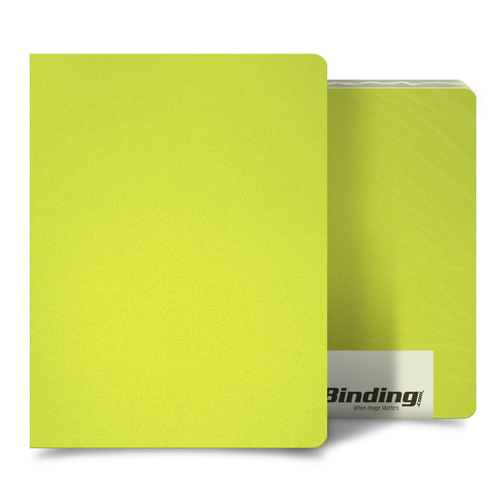 "Yellow 16mil Sand Poly 8.75"" x 11.25"" Binding Covers - 25pk (MYMP168.75X11.25YE) Image 1"