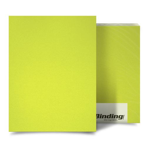 "Yellow 16mil Sand Poly 8.5"" x 14"" Binding Covers - 25pk (MYMP168.5X14YE), MyBinding brand Image 1"
