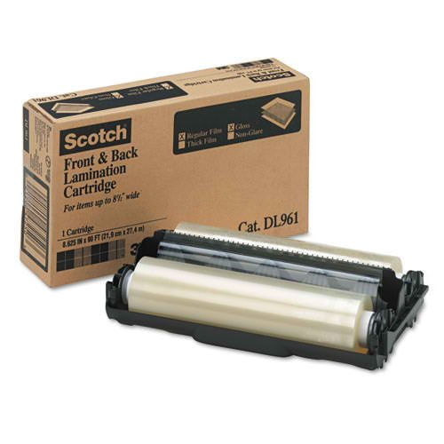 Scotch Dual Laminate Refill Cartridge (LS960) 5.4mil Glossy 8.625
