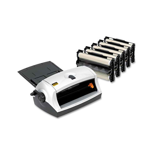 Electrical and Manual Cold Laminator Image 1