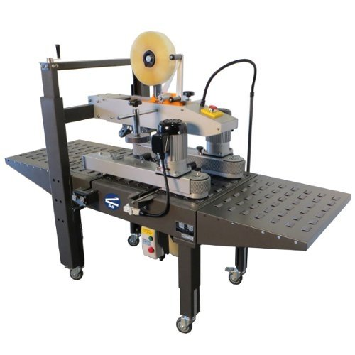 SealerSales Semi-Automatic Uniform Carton Sealer w/ Top and Bottom Drive Belts (CS-19520), SealerSales brand Image 1