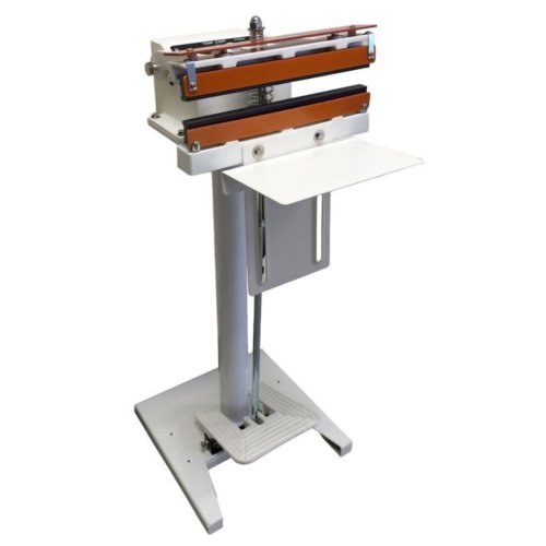 "SealerSales 12"" Direct Heat Foot-Operated Sealer w/ PTFE Coated Mesh Seal (W-300DT) Image 1"