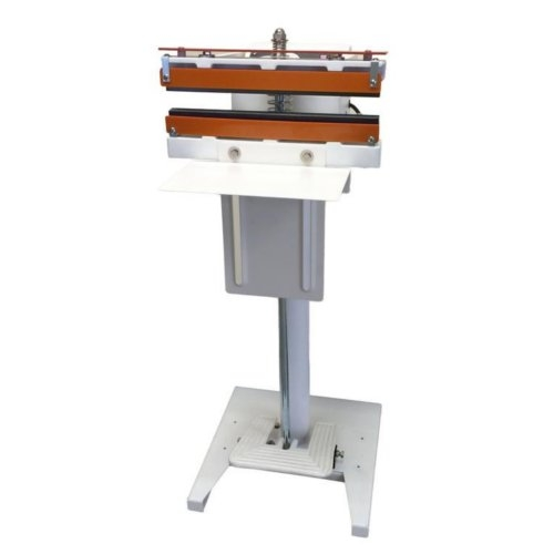 "SealerSales 12"" Direct Heat Foot-Operated Sealer w/ PTFE Coated Serrated Seal (W-300DTS) Image 1"