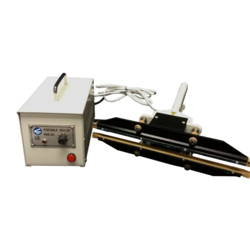 "SealerSales 8"" Portable Double Impulse Sealer w/ 5mm Seal Width (FKR-200A) Image 1"