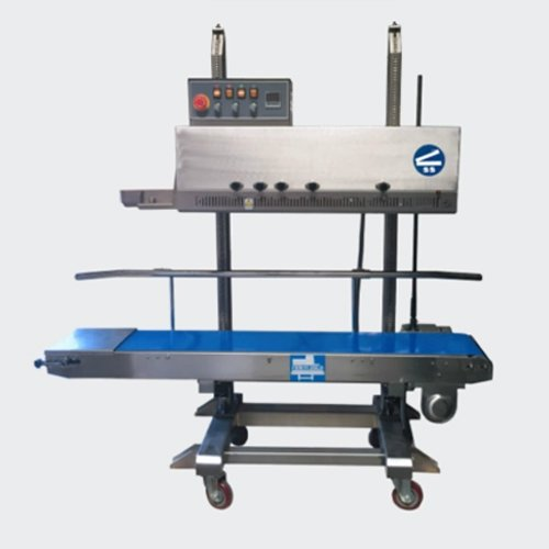 SealerSales FRM-1120LD Left Feed Vertical Dry Ink Coding Continuous Band Sealer (FRM-1120LD-LtoR) Image 1