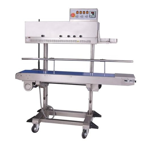 SealerSales Right Feed Vertical Dry Ink Coding Continuous Band Sealer (FRM-1120LD) Image 1