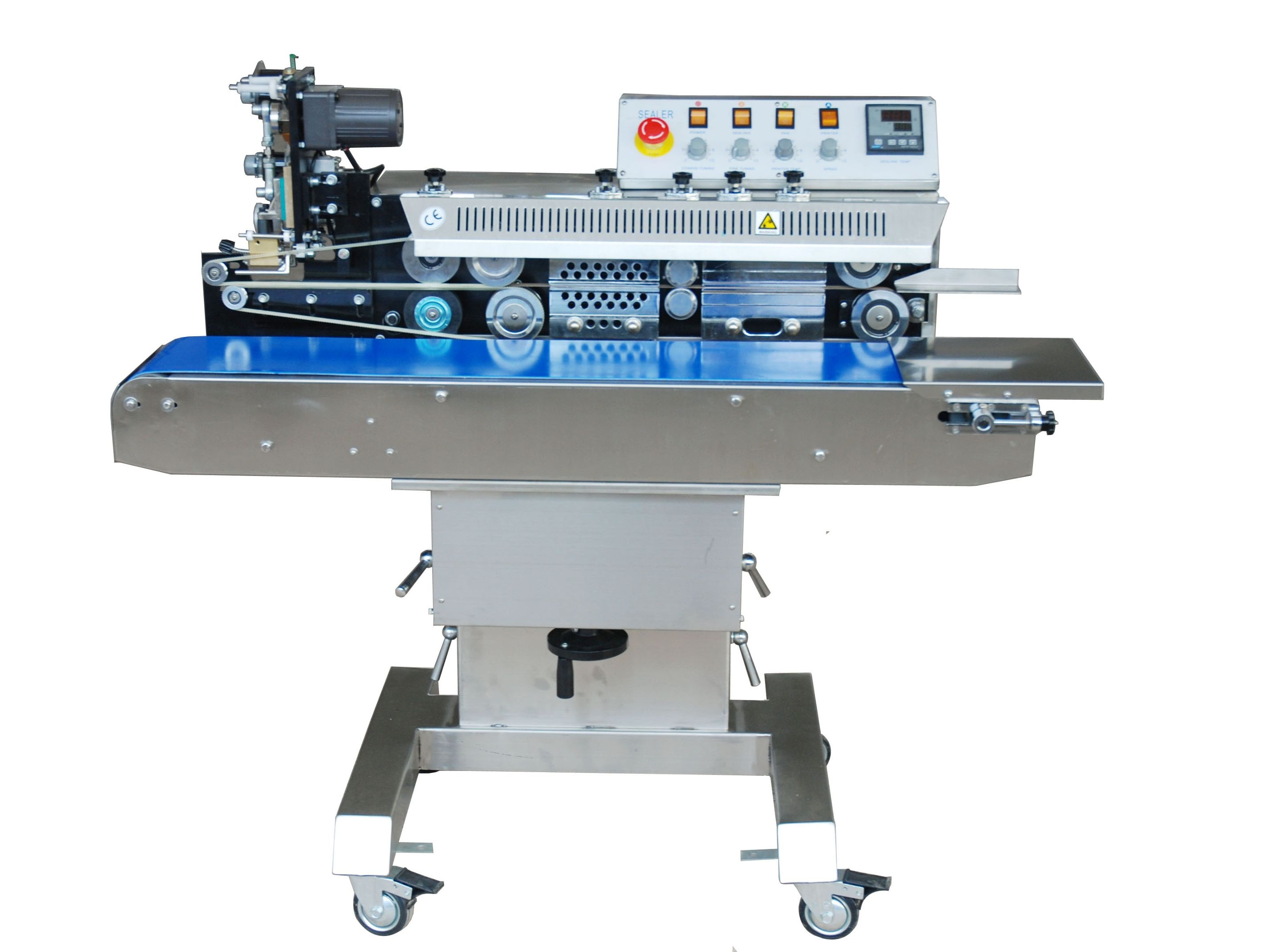 SealerSales Free-Standing Horizontal Color Ribbon Printing Continuous Band Sealer (FRS-1120W) Image 1