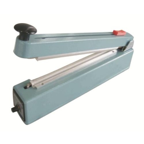"SealerSales 8"" Hand Impulse Sealer w/ Sliding Cutter (5mm Seal Width) (FS-205C) Image 1"