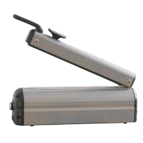 "SealerSales Deluxe 8"" Hand Impulse Sealer w/ Sliding Cutter (FSC-220) Image 1"