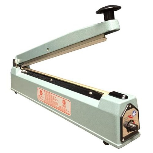 "SealerSales 16"" Hand Impulse Sealer w/ 2.6mm Seal Width (KF-400H) Image 1"