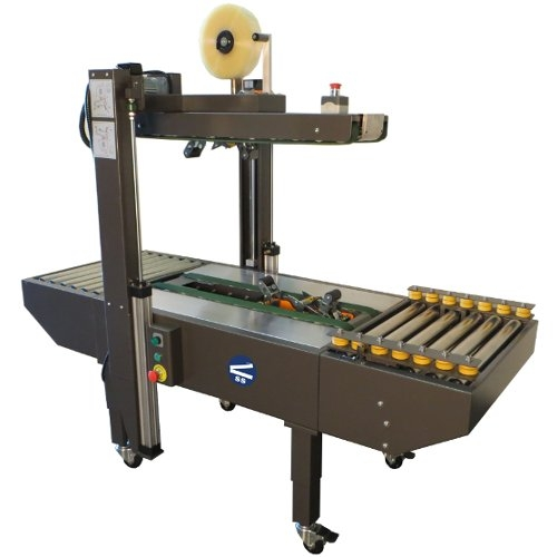 SealerSales S-20225R Random Semi-Automatic Carton Sealer w/ Top and Bottom Drive Belts (CS-20225R) Image 1