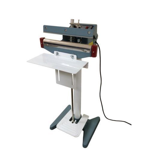 "SealerSales 12"" Foot-Operated Impulse Sealer w/ 2.5mm Seal Width (KF-300F) Image 1"