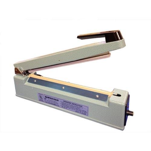"SealerSales 16"" Hand Impulse Sealer w/ 2mm Seal Width (TISH-400) Image 1"