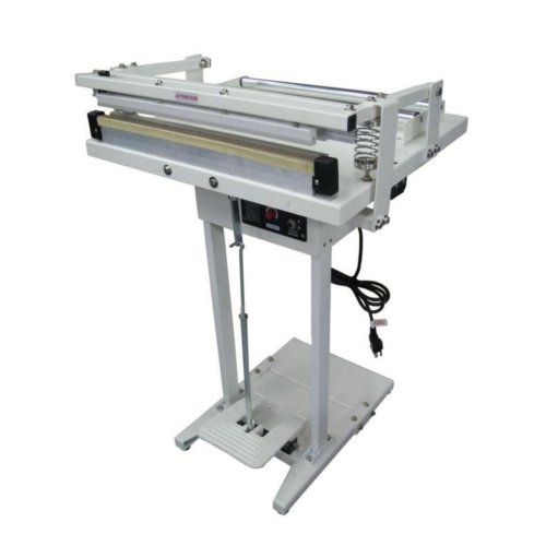 "SealerSales 18"" Foot-Operated Impulse Sealer w/ Sliding Cutter and Film Roller (WNR-450FC), SealerSales brand Image 1"