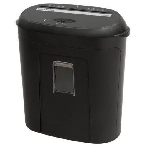 Sentinel 10-Sheet Level P-4 Micro-Cut Paper Shredder with Pull-Out Bin (FM100P) Image 1