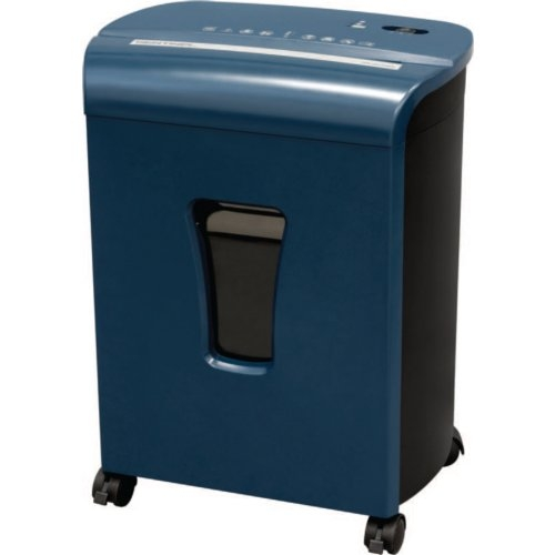 Sentinel FM101P Blue 10-Sheet Level P-4 Micro-Cut Paper Shredder with Pullout Bin (FM101P-BLE) Image 1