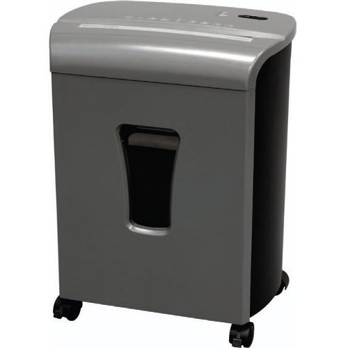 Sentinel FM101P Gunmetal 10-Sheet Level P-4 Micro-Cut Paper Shredder with Pullout Bin (FM101P-GUN) Image 1