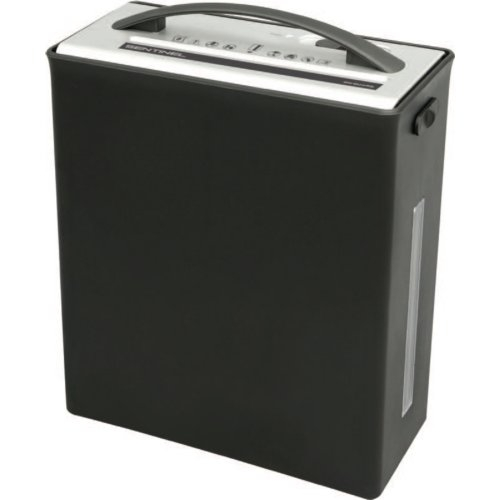 Sentinel 6-Sheet Level P-4 Micro-Cut Paper Shredder with Handle (FM64B) - $50 Image 1