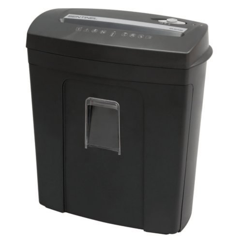 Sentinel 8-Sheet Level P-4 Micro-Cut Paper Shredder with Pull-Out Bin (FM80P) Image 1