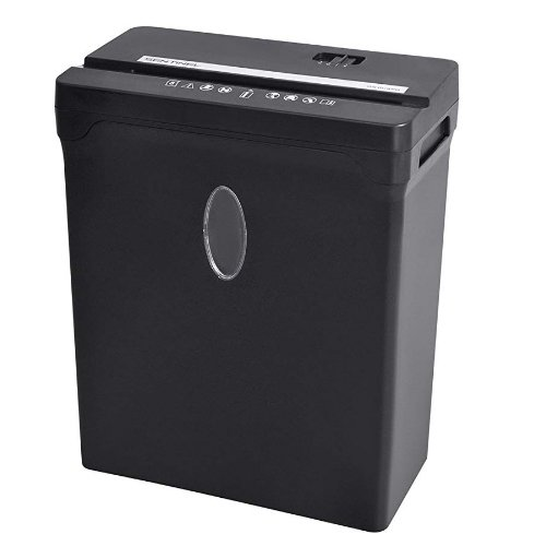 Sentinel 8-Sheet Level P-4 Cross-Cut Paper Shredder (FX82B) Image 1