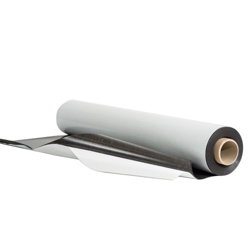 "Drytac Magnetic Sheeting with Adhesive - 24.375"" x 50' (DMSA2450) Image 1"