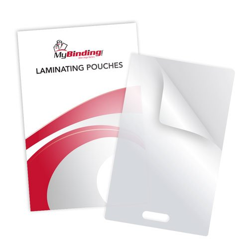 5mil Laminating Pouches with Short Side Slot (MY5MILLPWSSS) - $16.57 Image 1