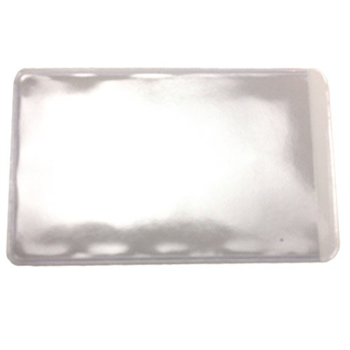 Clear Adhesive Business Card Pockets