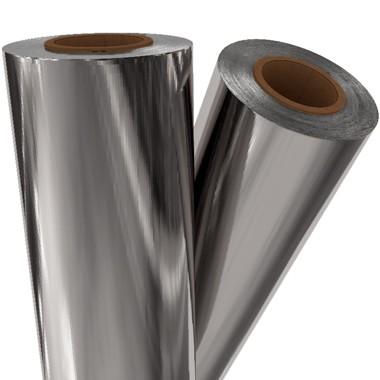 "Silver Metallic 12"" x 100' Laminating / Toner Fusing Foil (SIL-00-12) Image 1"