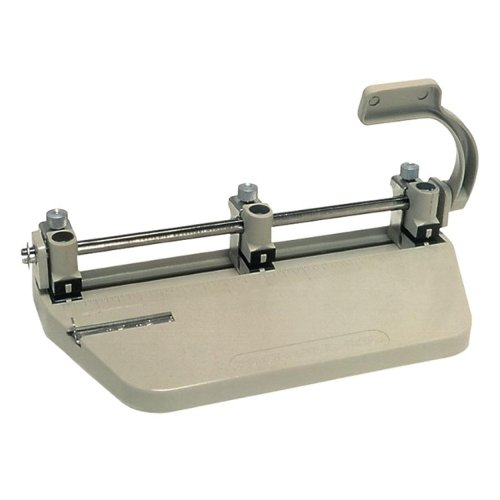 Skilcraft Beige Manual Adjustable 3-Hole Punch (NSN1393942), Binding Machines Image 1
