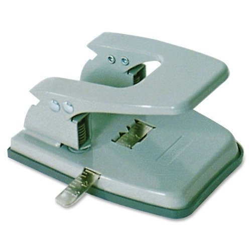 Skilcraft Gray Fixed 2-Hole Paper Punch (NSN2247589), Skilcraft Image 1