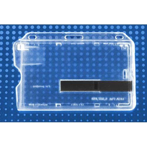 Smart Card Holder - Side Load w/ Slide Ejectors, Horizontal - 50pk (MYBP736T1), MyBinding brand Image 1